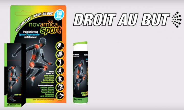 Novarnica Sport Vaporisateur Antidouleur