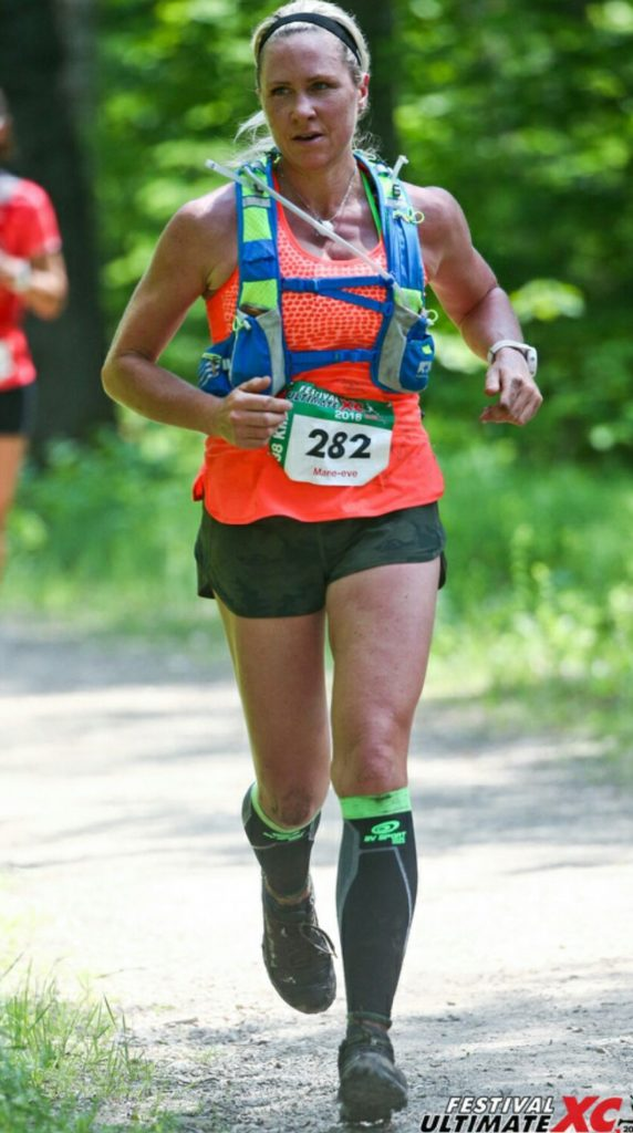 Marie-Eve Lamontagne Ultimate Xc St-Donat Trail running